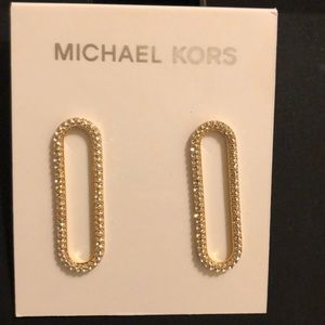 New with tags Michael Kors earrings